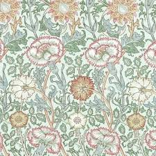 morris and co wallpaper co pink william morris wallpaper