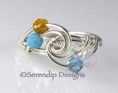 grandmothers ring mothers ring grandmothers ring sterling by serendipdesignsjewel