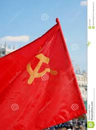 Soviet Russian Flag The Flag Of The Soviet Union Ussr Waving In The Wind Stock