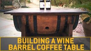 coffee table interesting wine barrel coffee table design ideas