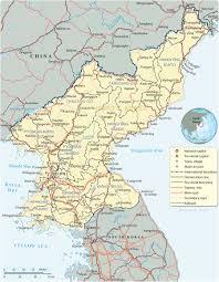 Korea Map Asia by North Korea Map Pyongyang