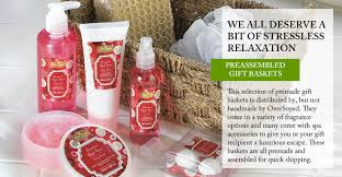 Spa Gift Basket Ideas Oversoyed Fine Organic Products Pre Assembled Spa Gift Baskets