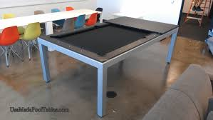 Dining Room Table Pool Table - fusion contemporary pool table dining pool table modern pool
