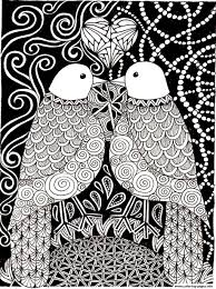 love birds coloring pages printable