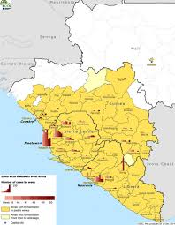 Mali Africa Map by Epidemiological Update Outbreak Of Ebola Virus Disease In West