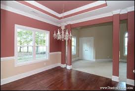top 5 red paint colors for the dining room