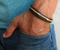 men bracelet images Men 39 s bracelet men 39 s cuff bracelet men 39 s vegan jpg
