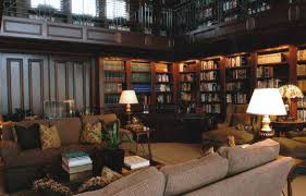 traditional home library design ideas u2013 rift decorators