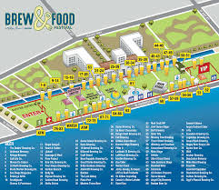 Maps San Diego by Map U0026 Directions Brew U0026 Food Festival In San Diego