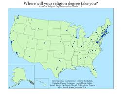 Canada College Map by Religion Map Of Congress Members Shows The Diversity Of Faith In