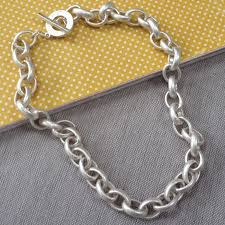 chunky link necklace images Copenhagen essentials chunky silver plated links necklace jpg