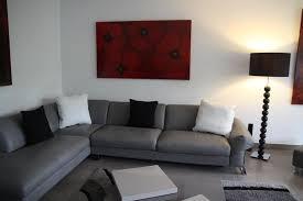 idee deco salon canape noir best salon blanc gris photos amazing house design