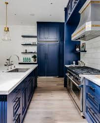 blue kitchen cabinet paint uk kitchen karma porcelain paired with blue paint school of tile