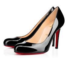 simple pump patent 100 black patent calfskin women shoes