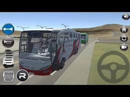 game bus simulator mod indonesia for android idbs bus simulator indonesia track 3 permainan simulator bus 3d