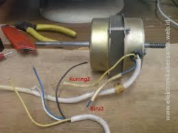 bagaimana cara mengukur motor kipas angin elektronika bersama