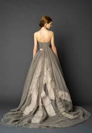 wedding dress not white great grey wedding dress 30 gorgeous wedding dresses that are not