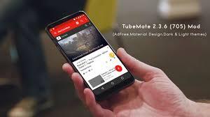 adfree apk tubemate 2 3 6 705 apk mod adfree material design app