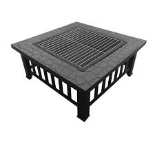 Bbq Tables Outdoor Furniture by Outdoor Fire Pit Bbq Table Grill Fireplace Stone Pattern U2013 Barware