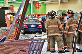 car crashes into petco store in pittsfield no serious injuries