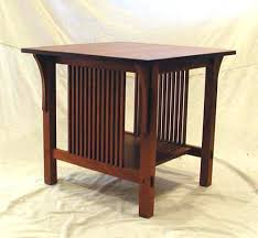 Wood Plans For Bedside Table by Side Table Liberty Furniture Santa Rosa 5 Piece Pedestal Table