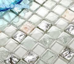 Online Get Cheap Sea Glass Tile Backsplash Aliexpresscom - Sea glass backsplash