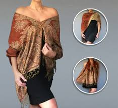 amazon com copper brown shawl top fall clothing womens poncho by