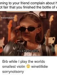 Smallest Violin Meme - 25 best memes about worlds smallest violin worlds smallest