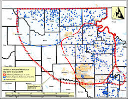 Map Of Oklahoma Counties Between Scoop And Stack What Drives Drillers To Oklahoma