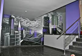 fresque carrelage mural deco chambre peinture murale 4 decor mural ville decograffik