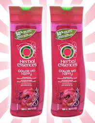 x2 herbal essences color me happy rose color safe shampoo 10 1 oz