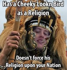 Cheeky Meme - cheeky lookn bird is best religion jamal 2015 by recyclebin meme