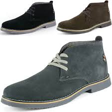 alpine swiss beck mens suede chukka desert boots lace up shoes