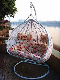 Patio Egg Chair Hanging Egg Chair U2013 Enjoy A Peaceful Time Indoors And Outdoors