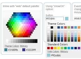 Jquery Color Picker Plugins Jquery Script Web Page Color Picker