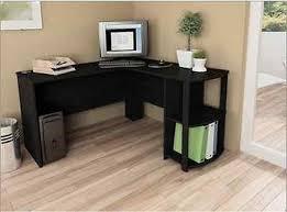 Black Computer Desk Modern Corner Computer Desk For Home Office Desks Small Table