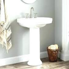 pedestal sink towel bar small pedestal sink towel bar amazing bathroom within cabinet