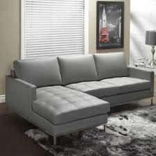soft leather sectionals you u0027ll love wayfair