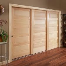 pine sliding wardrobe doors sliding closet doors wood u2014 closet