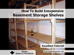 Affordable Basement Ideas by Best Affordable Basement Shelving 2x4 On Interior D 3676