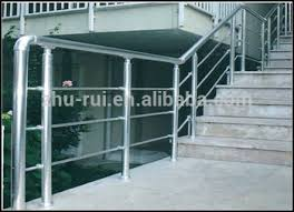 indoor aluminium stainless steel stair railings outdoor stair