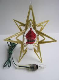 vintage spinning tree ornaments rotating