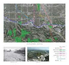 Los Angeles River Map by Studio City La River Index