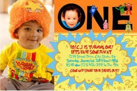 Yo Gabba Gabba Party Ideas by Custom Yo Gabba Gabba Themed Photo Invitations For A Party