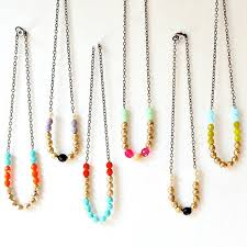 bead necklace long images Nonsensical glass bead necklaces beaded necklace single uk jpg