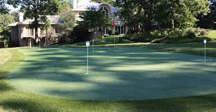 a backyard backyard putting greens outdoor putting greens indoor putting