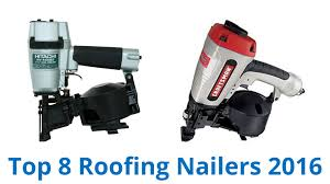 Battery Roofing Nailer by Roofing Nailers U0026 Roofing Coil Nailer With Case Sc 1 St The Home Depot