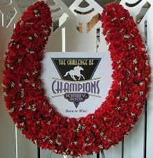 horseshoe wreath horseshoe wreath kirby floral designs of distinction