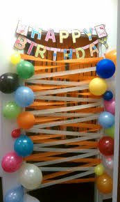 outstanding butterfly birthday door decoration looks different