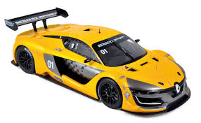 Modelcar Renault R S 01 2015 Official Yellow Presentation Version